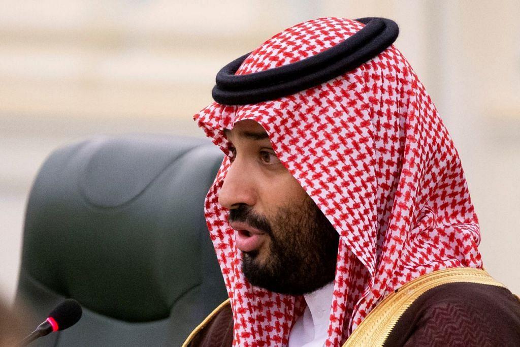 PUTERA MAHKOTA MOHAMMED SALMAN: Penggerak utama penyenaraian syarikat minyak Aramco. - Foto REUTERS