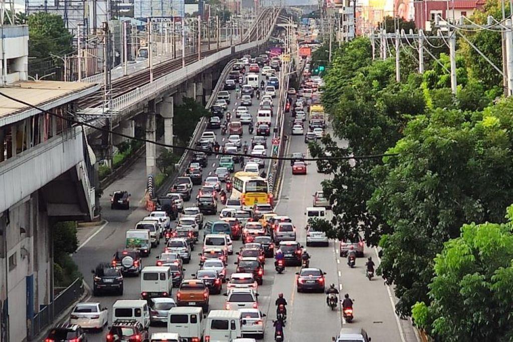 Kawasan utama acara akan diadakan adalah Metro Manila (gambar) dan kompleks sukan New Clark City. - Foto ST oleh RAUL DANCEL
