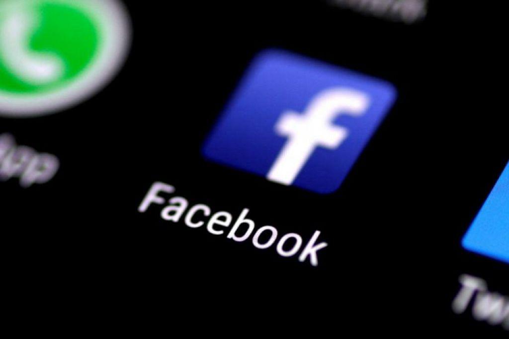 Facebook keluarkan lebih 11.6 juta pos yang menunjukkan gambar kanak-kanak yang bogel dan exploitasi seksual terhadap kanak-kanak d Facebook pada suku ketiga tahun ini. - Foto REUTERS