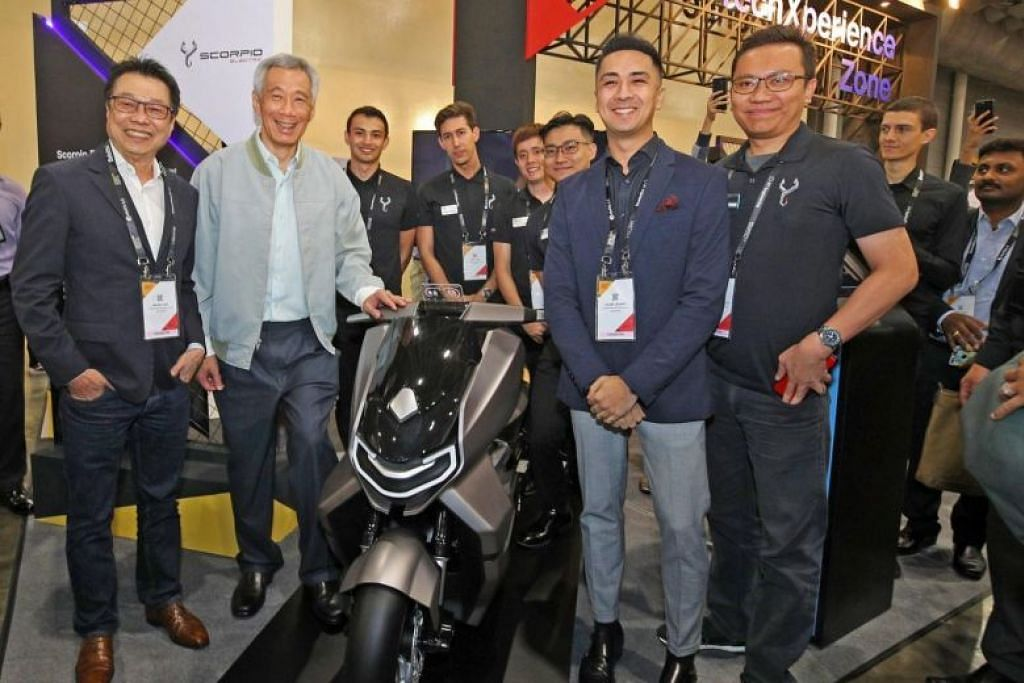 Singapore electric motorcycle venture picks up speed