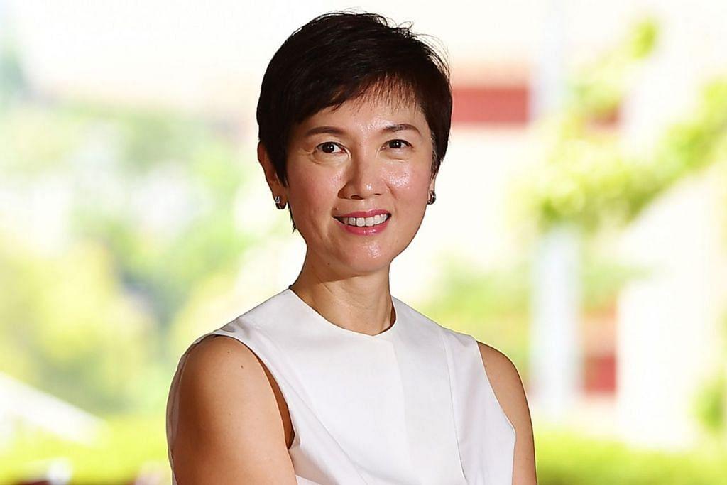 Menteri Tenaga Manusia merangkap Menteri Kedua Ehwal Dalam Negeri, Cik Josephine Teo.