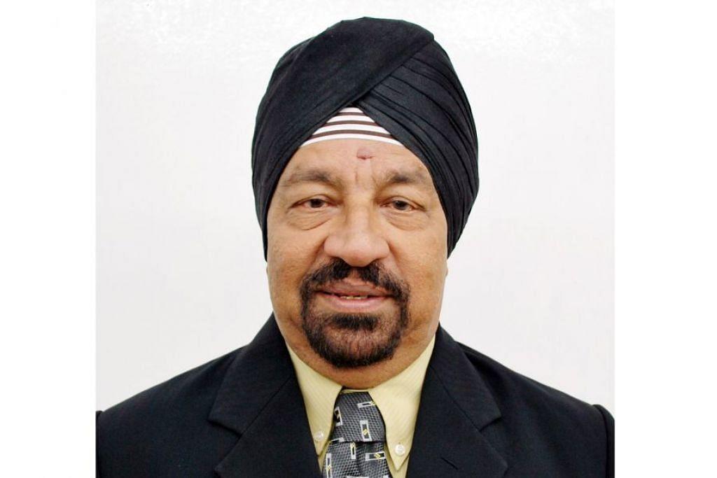 Encik Sarjit Singh, 73 tahun, konsultan syarikat kejuruteraan.