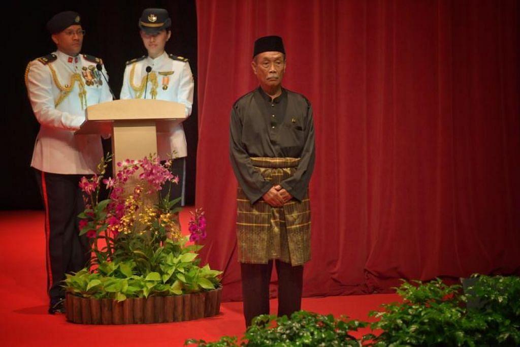 Encik Yatiman Yusof dianugerahkan Pingat Khidmat Meritorious. FOTO: ARIFFIN JAMAR