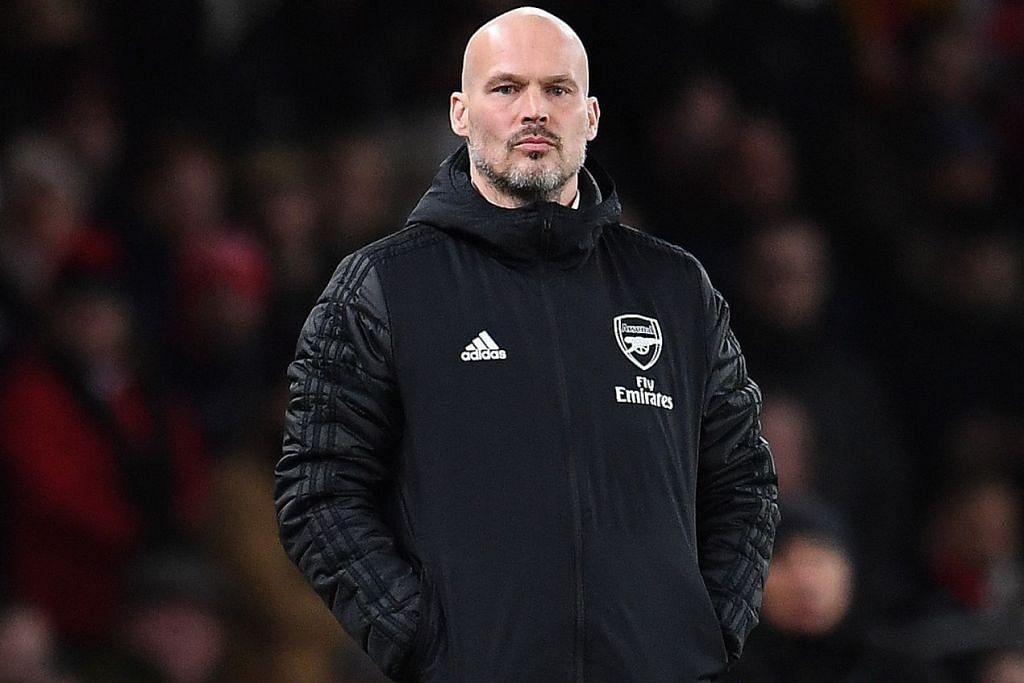 LJUNBERG: Menggesa pemain Arsenal supaya menjadi kekalahan di tangan Brighton baru-baru ini sebagai pembangkit semangat untuk mencapai kecemerlangan. - Foto EPA-EFE