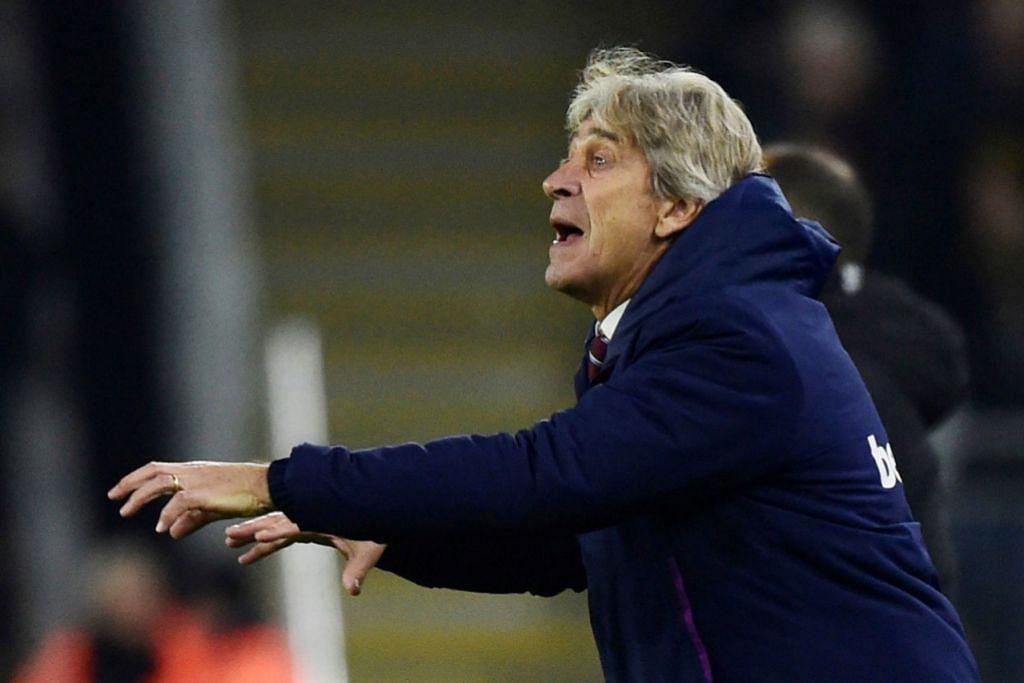 PELLEGRINI: Tidak memikirkan soal Arsenal, sebaliknya mereka lebih bertekad bangkit daripada kekecewaan tewas 2-0 di tangan Wolves pada minggu lalu. - Foto REUTERS
