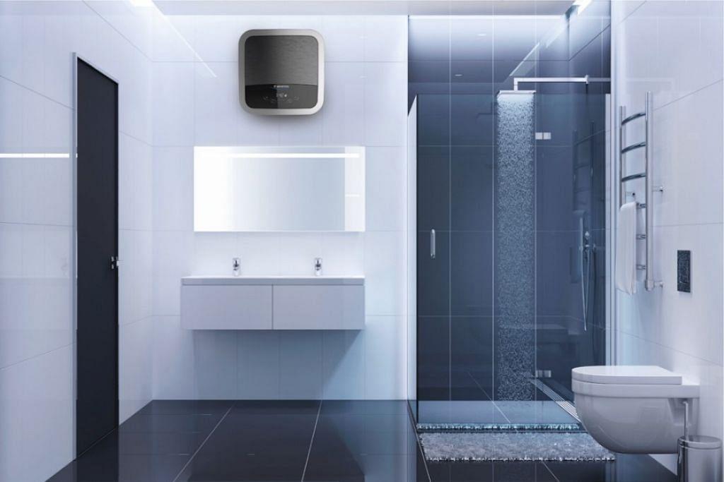 PEMANAS AIR CANGGIH: Andris2 Top merupakan alat pemanas air simpanan pertama di Singapura yang dilengkapi dengan WiFi di Singapura serta kawalan aplikasi yang khusus.