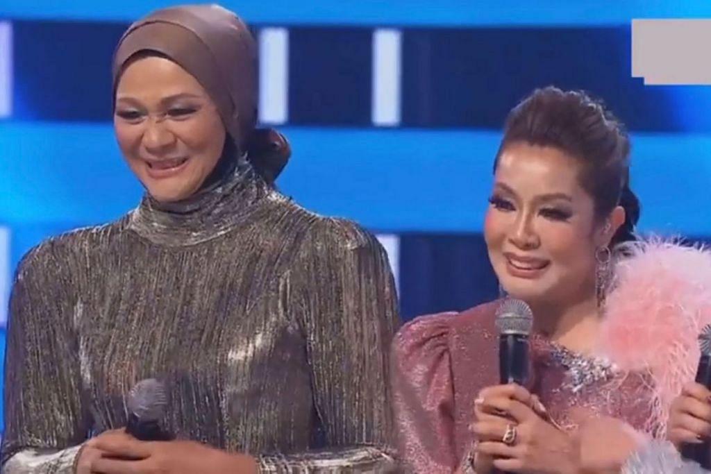 Ifa Raziah (atas kanan)  dan Noorshila Amin (atas kiri) - Foto ASTRO GEMPAK