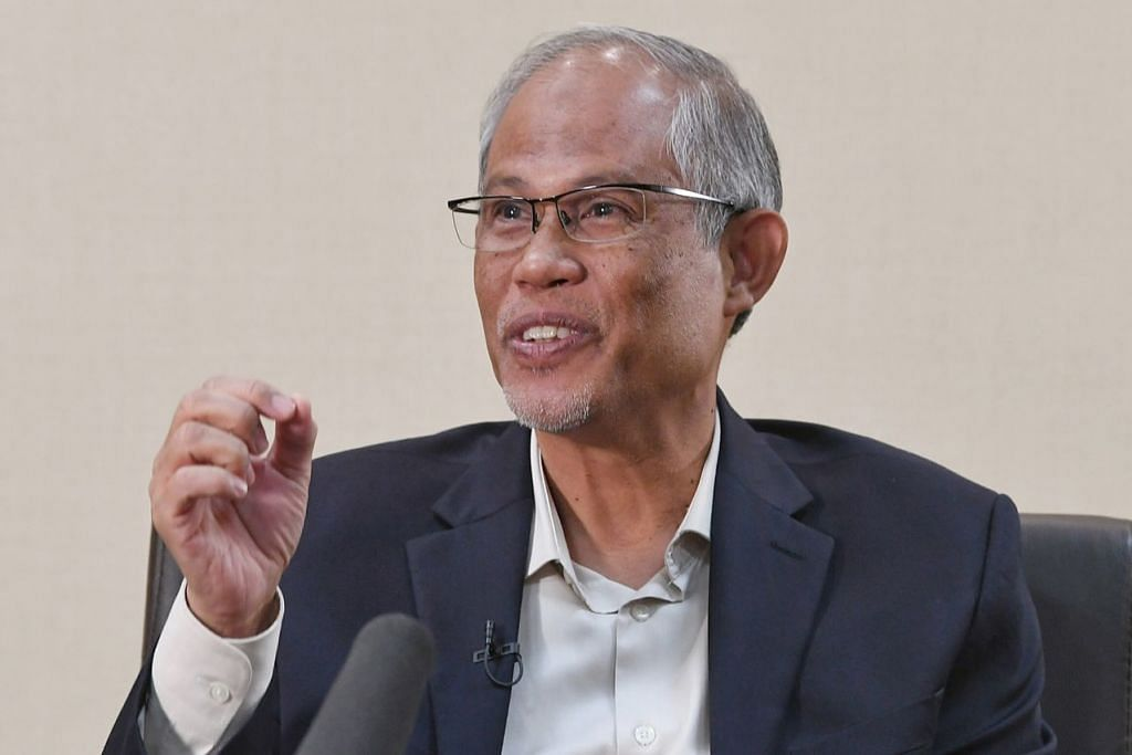 MASYARAKAT MODEL: Encik Masagos berkata masyarakat Islam Singapura boleh dijadikan model bagi masyarakat minoriti Islam lain di negara lain hasil kejayaannya hidup harmoni dengan masyarakat lain dan meraih pencapaian di tahap yang sama dengan mereka sementara tidak mengkompromi ajaran Islam. – Foto BM oleh KHALID BABA