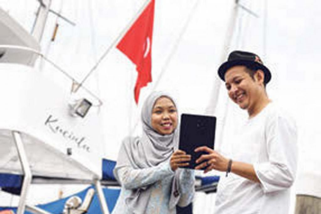Tablet Berita Harian (BH).
