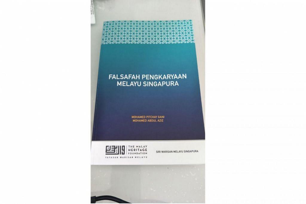 SARAT ILMU: Buku ini patut menjadi salah satu sumber rujukan bagi menyusuri perkembangan sejarah sosial, seni, budaya dan sosioekonomi masyarakat Melayu Singapura. - Foto YAYASAN WARISAN MELAYU, SRI WARISAN MELAYU & fail