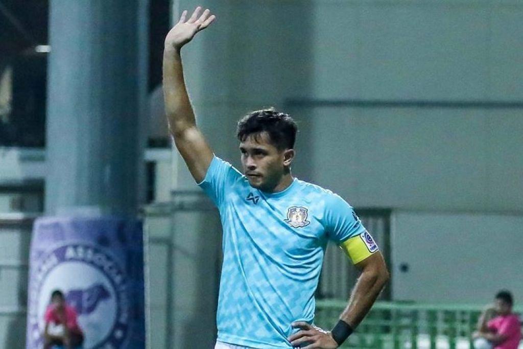 Zulfahmi Arifin akan menyarung jersi kelab Liga Satu Thailand, Suphanburi FC untuk semusim tahun depan. Foto: HOUGANG UNITED FC/FACEBOOK