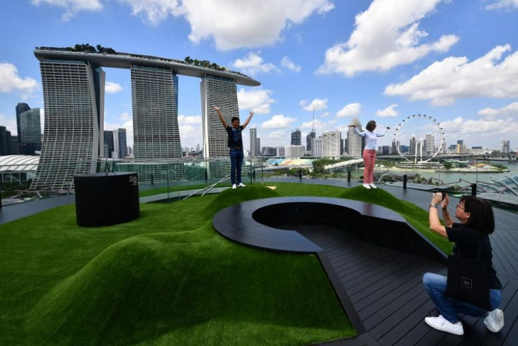 New observatory on top of tallest supertree at Gardens by the Bay