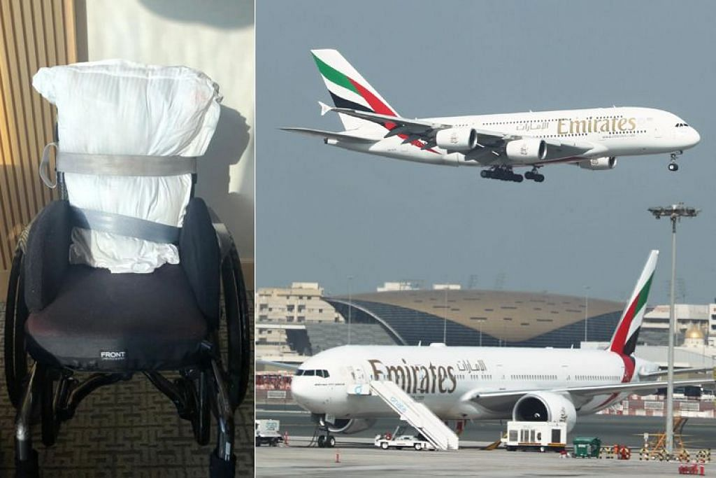 Emirates apologises to passenger after losing backseat of her wheelchair
