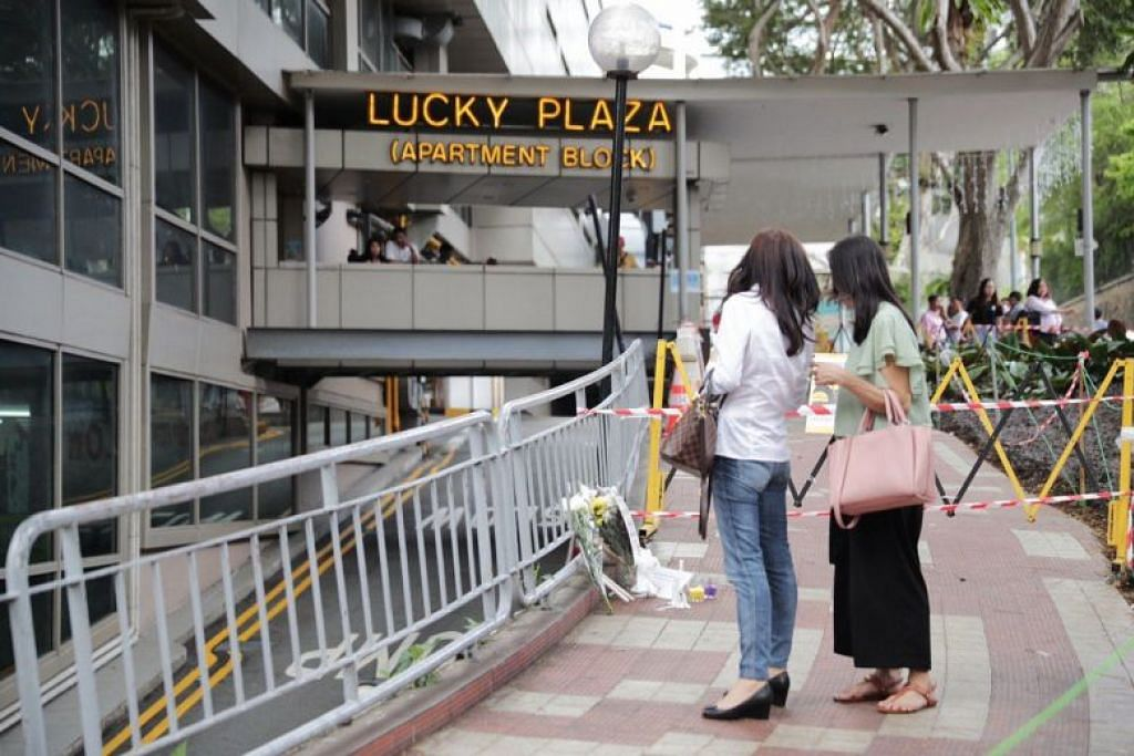 Lucky Plaza accident: One sister dead, another in hospital; all 6 Filipino victims good friends