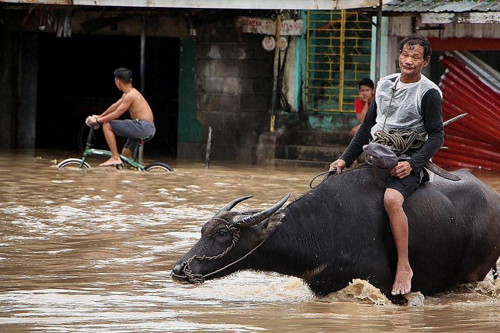 Bencana alam di Indonesia, Filipina iringi ketibaan tahun baru