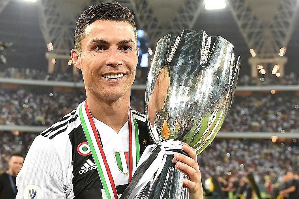 PIALA SUPER ITALY Ronaldo jaring gol kemenangan Juventus atasi AC Milan