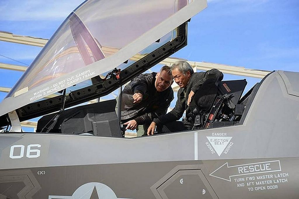 Jet pejuang F-35 dikenal pasti paling sesuai gantikan F-16 RSAF: Mindef