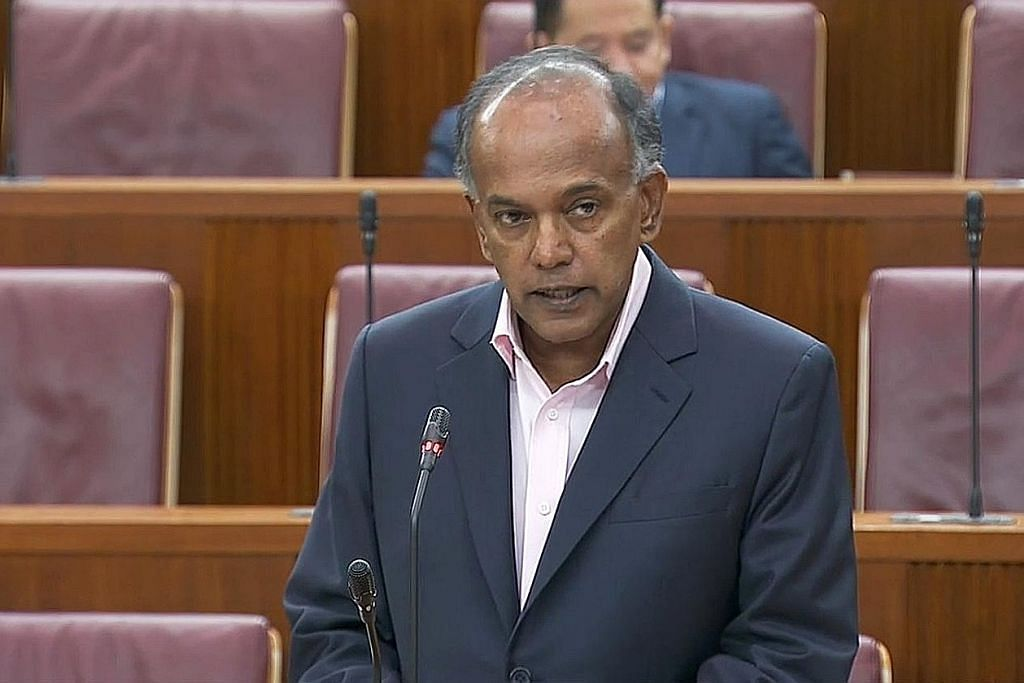 Shanmugam: Akta baru lindungi golongan muda, perbaiki pemulihan