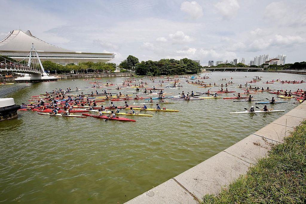 800 sertai lumba kanu di Marina