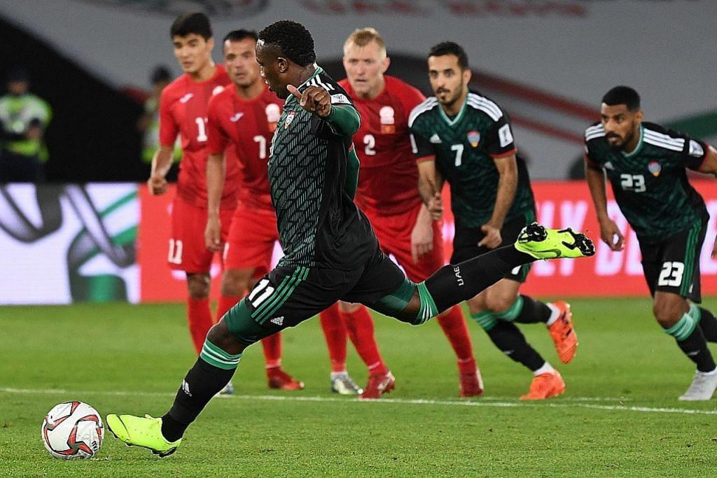 Penalti selamatkan UAE ke suku akhir; Jepun dan Australia turut mara