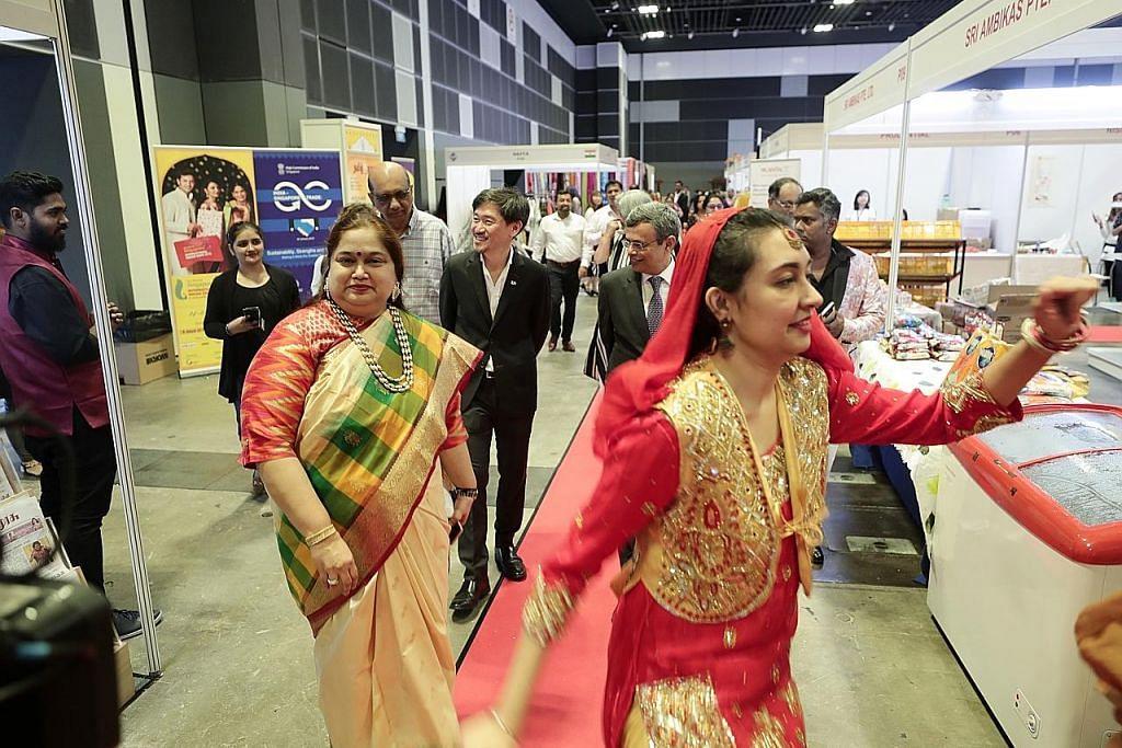 Tabla!, Tamil Murasu antara penganjur Ekspo India Antarabangsa S'pura