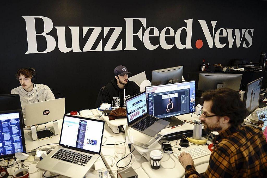 Syarikat media BuzzFeed buang 15% pekerja