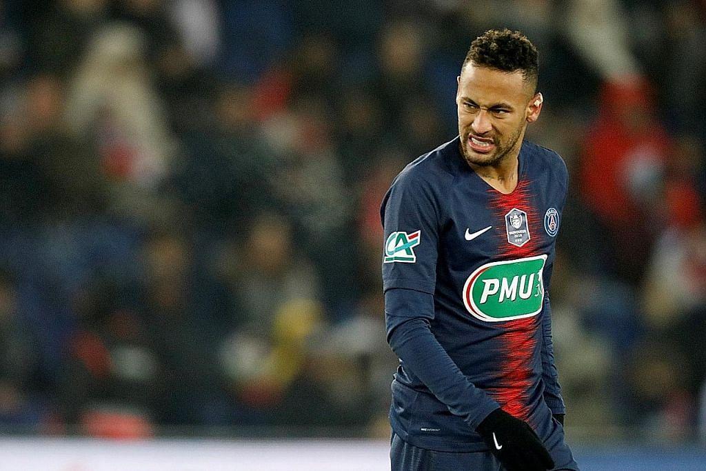 Tapak kaki Neymar retak, tidak dapat beraksi di Liga Juara Juara