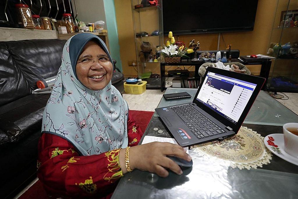 Warga emas teruja belajar teknologi maklumat dan media sosial