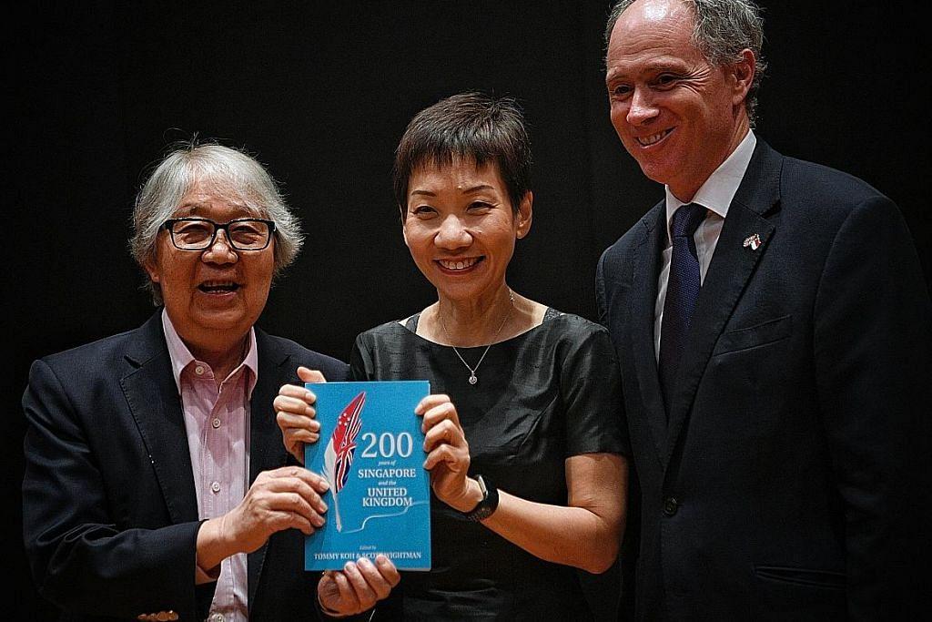 Grace Fu: Hubungan antara kaum sebahagian budaya S'pura sebelum 1819 lagi