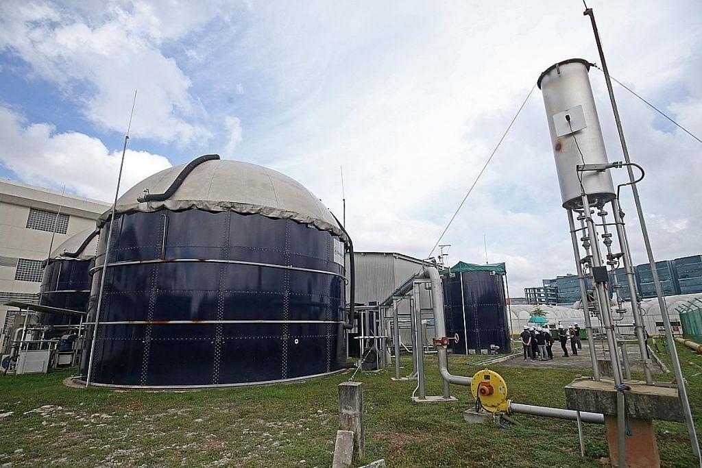 Loji Tuas Nexus akan diguna bagi hasilkan lebih banyak biogas menerusi sisa makanan