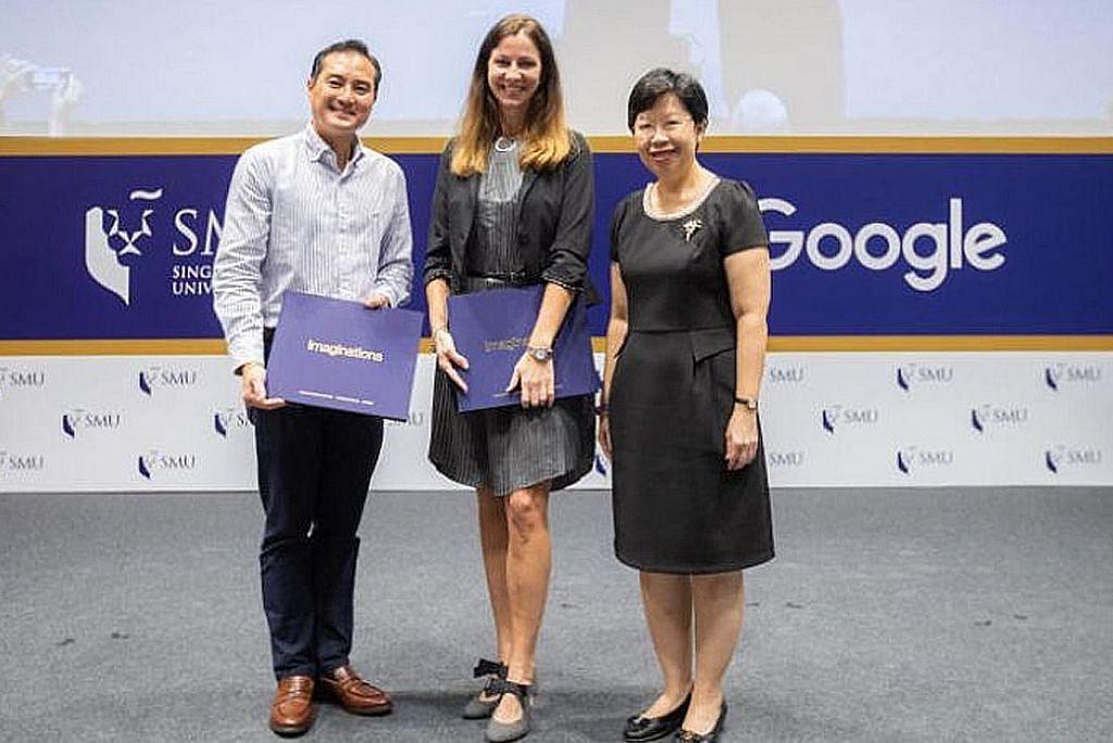 Google luaskan program data analisis kepada mahasiswa SMU