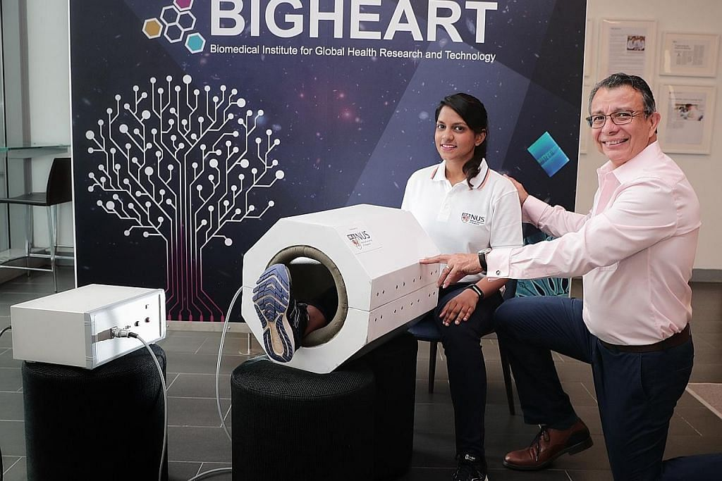 Penyelidik NUS cipta alat magnetik bagi bantu pulih otot