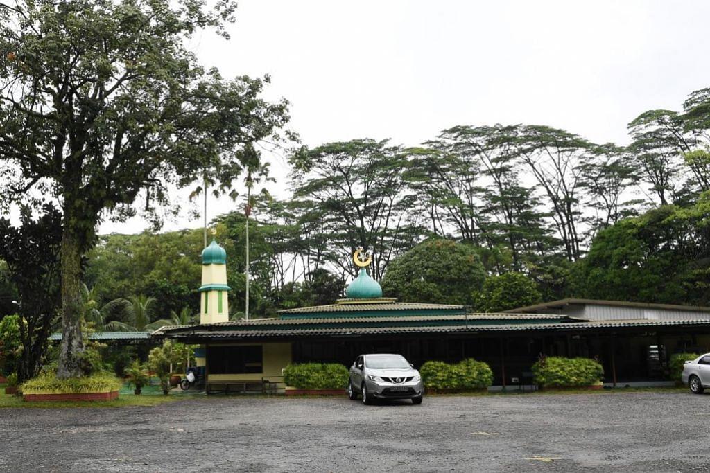 Ciri kampung Masjid Petempatan Melayu Sembawang terus jadi daya tarikan