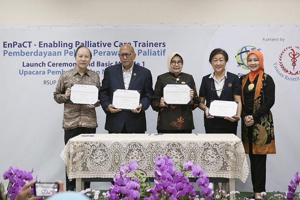 Lebih permintaan bagi akses jagaan paliatif