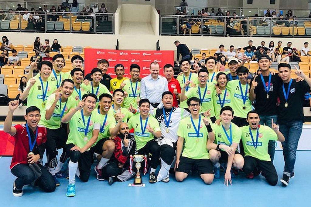 FLOORBALL Sekolah Victoria bangkit untuk tewaskan juara bertahan di final