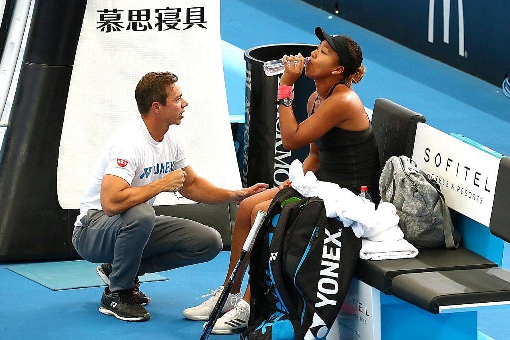 Naomi 'pisah' dengan jurulatih, beberapa minggu selepas juarai Terbuka Australia