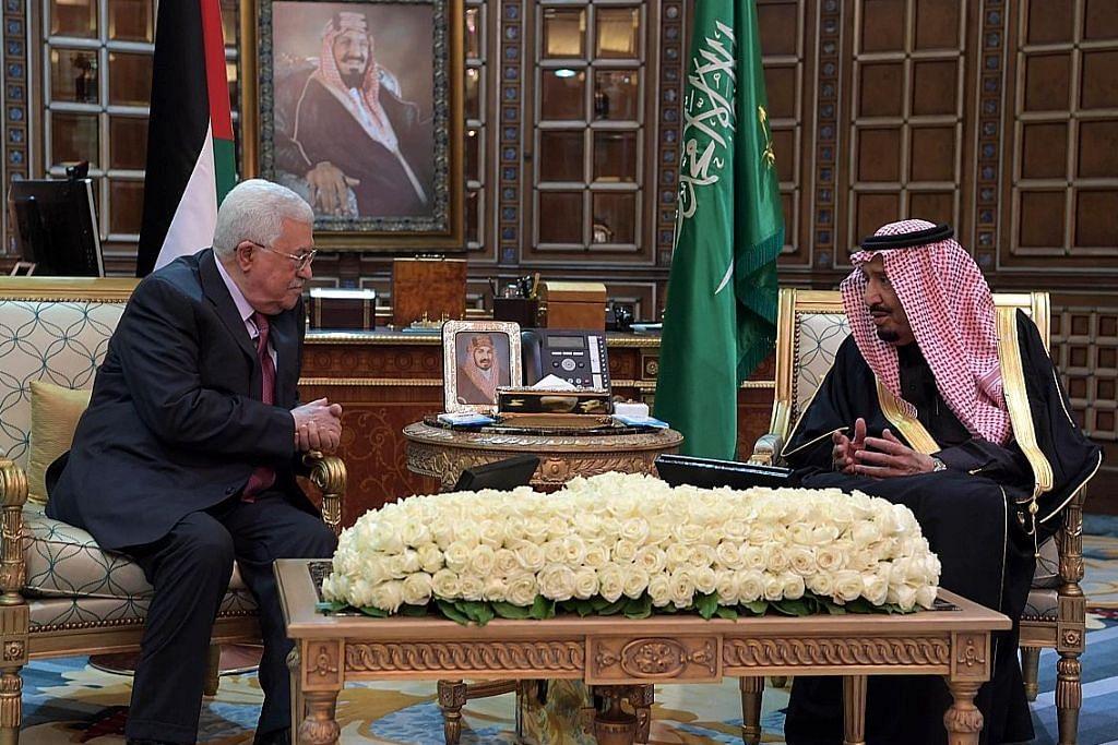 Raja Saudi komited capai matlamat negara Palestin merdeka