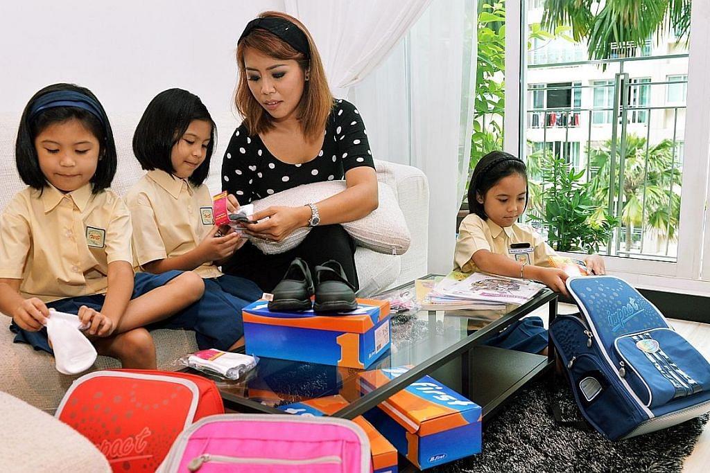 Sokongan tambahan bagi ibu bapa dengan anak masih bersekolah