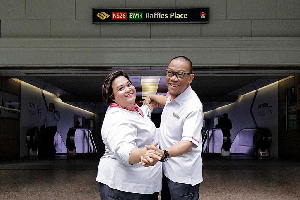 Cinta bersemi di stesen MRT