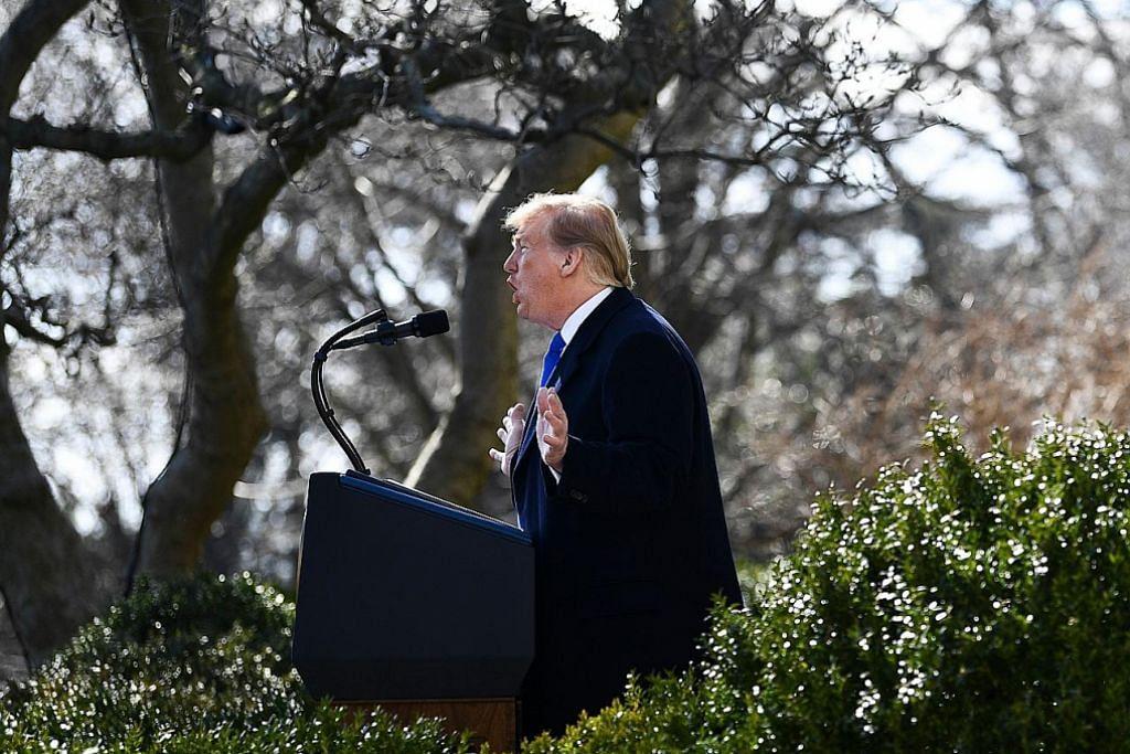 Isu bina tembok sempadan: 16 wilayah AS saman Trump bagi sekat perintah darurat
