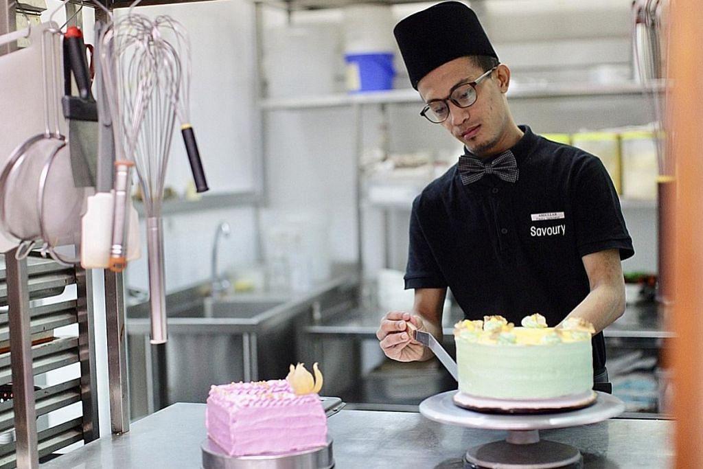 Minat buat kek dan manisan buka laluan kerjaya di restoran