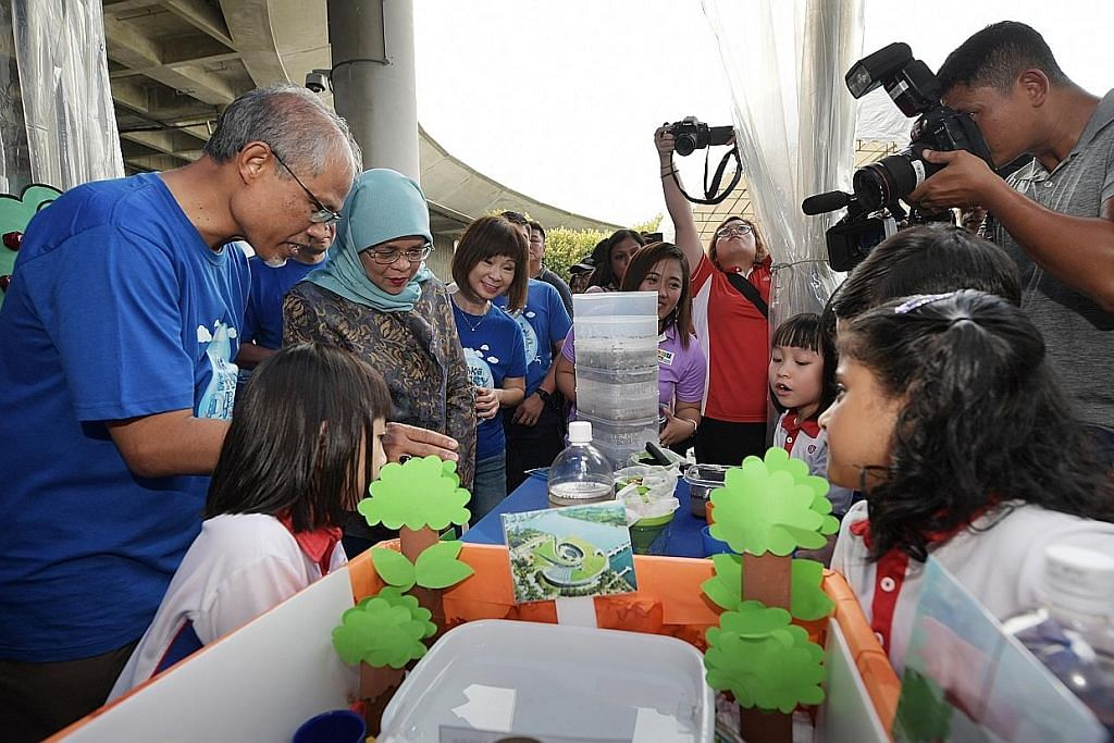 Presiden Halimah: Jimat air usaha setiap warga, sepanjang hayat
