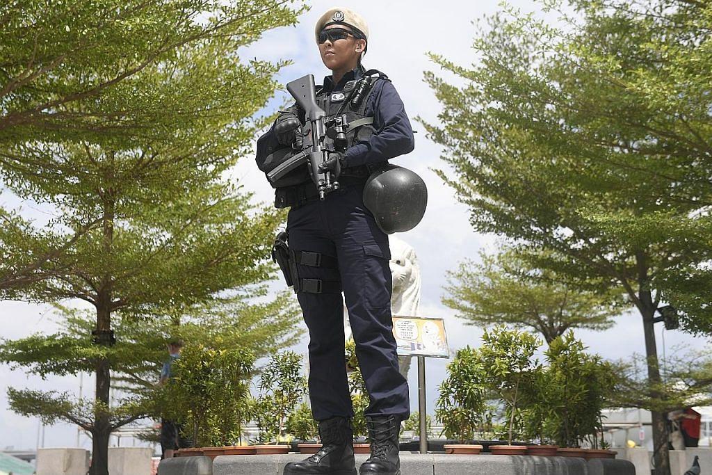Jumlah polis wanita semakin meningkat, diberi peluang luas