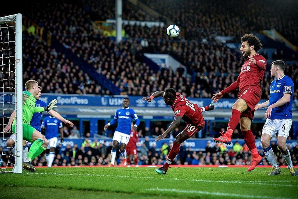 LIGA PERDANA ENGLAND Liverpool 'terkandas' di tangan Everton, City kini dahului liga