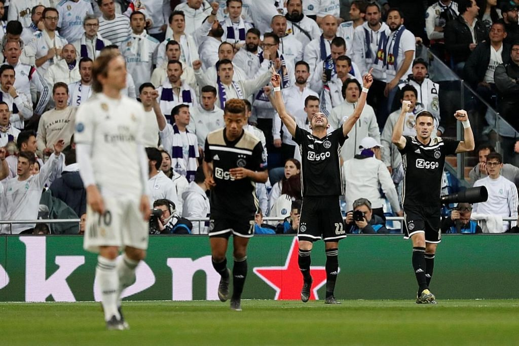 Ajax singkir Real Madrid; Kane bawa Spurs ke suku akhir