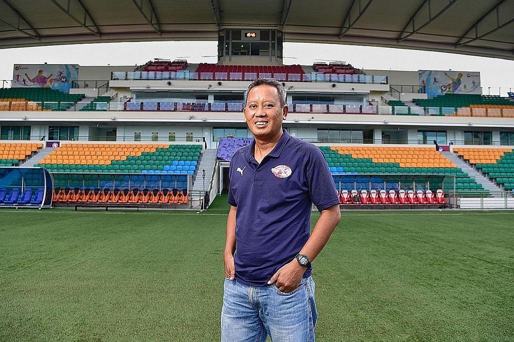 Sahut cabaran kendali pasukan Home United selepas 3 tahun jadi pembantu jurulatih