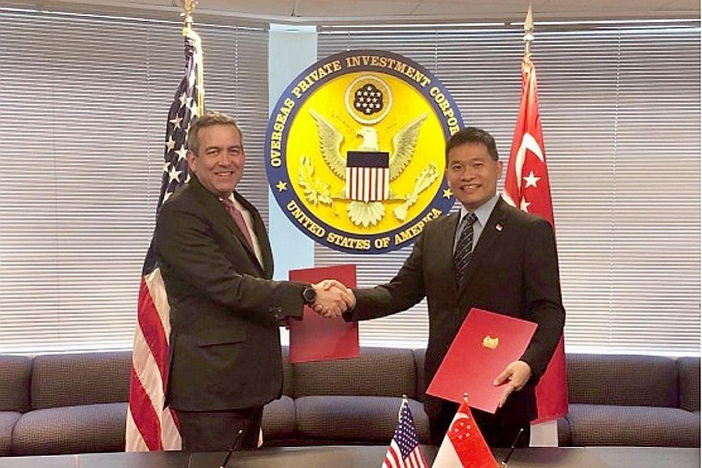 S'pura, AS kerjasama tingkat prasarana Asia