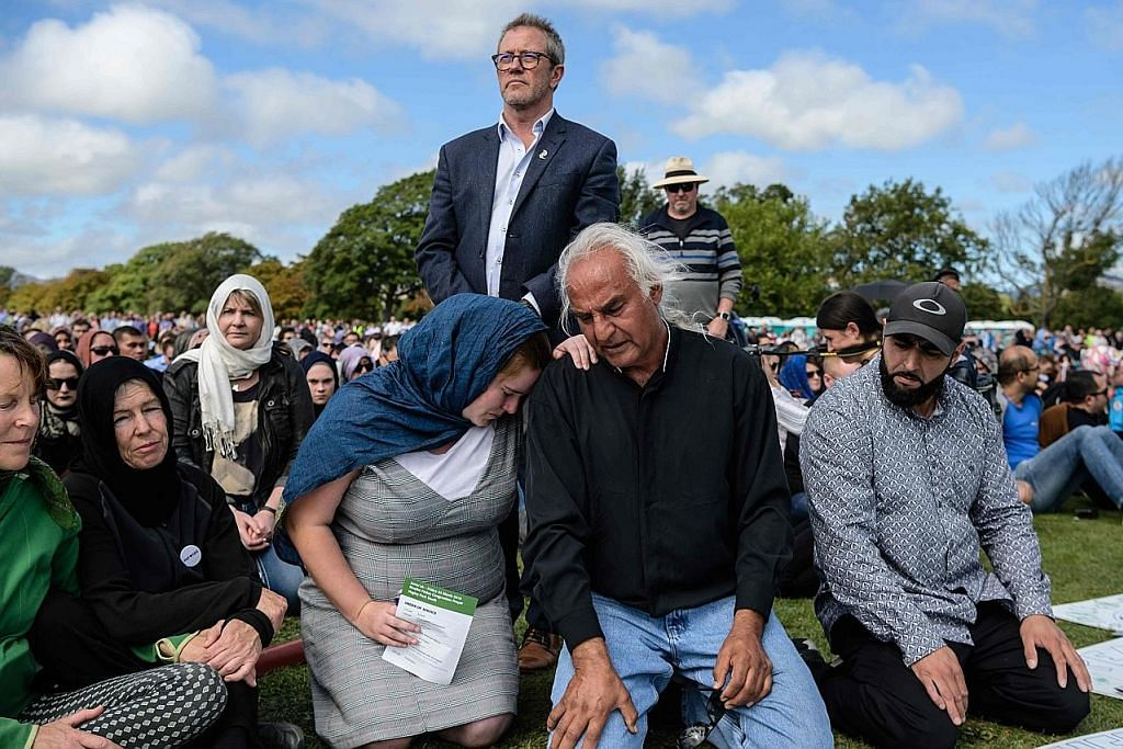 Rakyat New Zealand bersatu