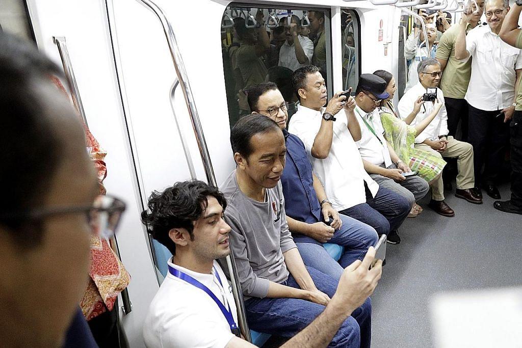 Indonesia lancar MRT bagi atasi sesak jalan raya