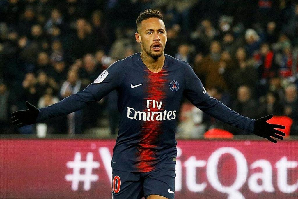 Bapa Neymar tegas anaknya akan kekal dengan Paris Saint-Germain